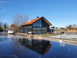 Bouwinspectie ontwerp recreatiewoning Marco Bruijnes Architecten